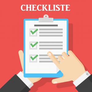 Checkliste Haushaltsauflösung