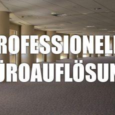 Abholung und Entsorgung von Büromöbeln
